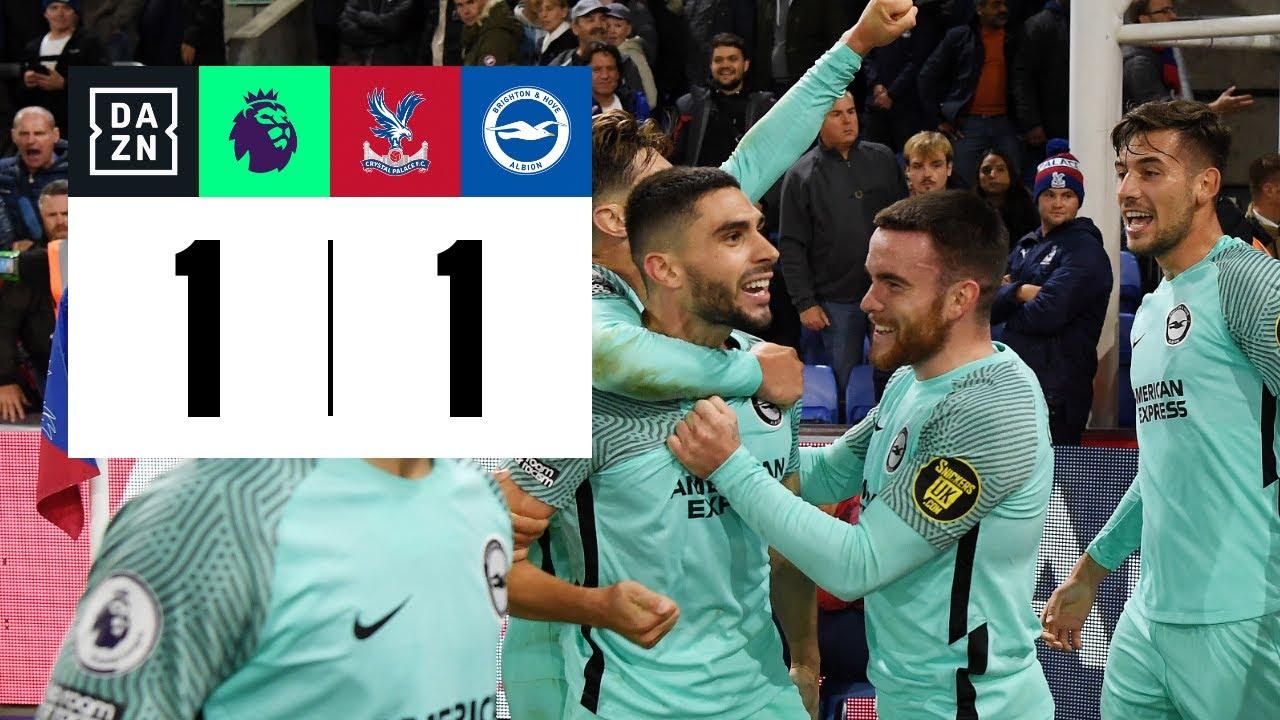 Crystal Palace vs Brighton (1-1)   Resumen y goles   Highlights Premier League