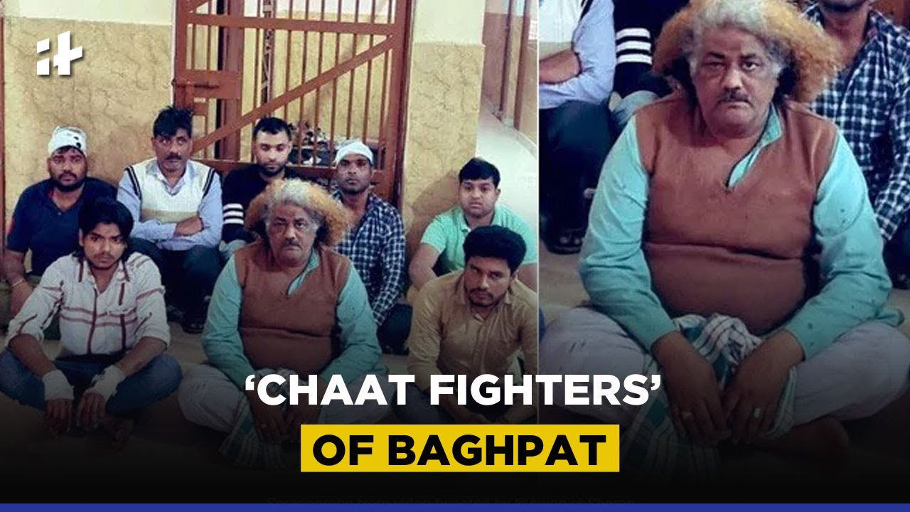 Baghpat Chaat Fight: Vendors Clash Over Chaat In Baghpat, Video Viral