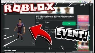 ¿Cómo hacer el NUEVO EVENTO FC BARCELONA desde el ⚽? ⚽ de la casa de la inser Evento de Nueva Barcelona ? Roblox Inglés