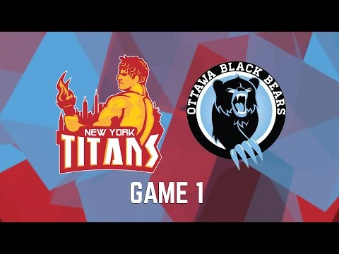Major League Quidditch 2016: New York Titans vs. Ottawa Black Bears - Game 1