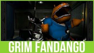 Vi spiller: Grim Fandango RM - DER ER NOGET GALT.. - Afsnit 2