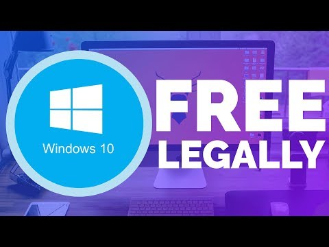 How To Get Windows 10 For FREE! (Legal) (2017)