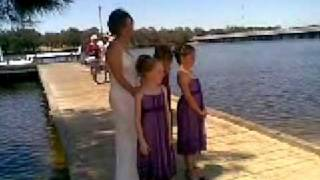 Kate and her attendants - Bayswater WA