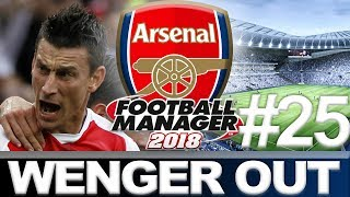 ARSENAL | PART 25 | NEW WHITE HART LANE | WENGER OUT | FOOTBALL MANAGER 2018