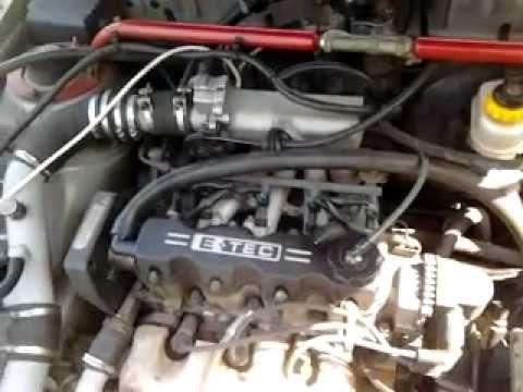 Daewoo Lanos turbo cng - YouTube