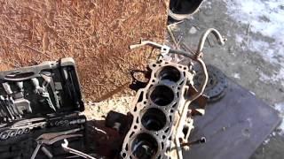 переборка двигателя на мазде 626 третья часть