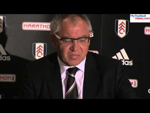 Felix Magath: Fulham are not down yet
