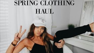 Spring Clothing Haul 2016