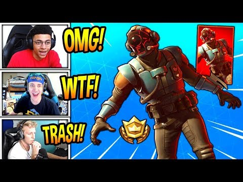 STREAMERS REACT TO *NEW* BLOCKBUSTER SKIN! *EPIC* Fortnite SAVAGE & FUNNY Moments