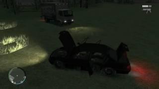 """GTA:IV - Чёрная BMW E38 750 из фильма """"Бумер"""""""