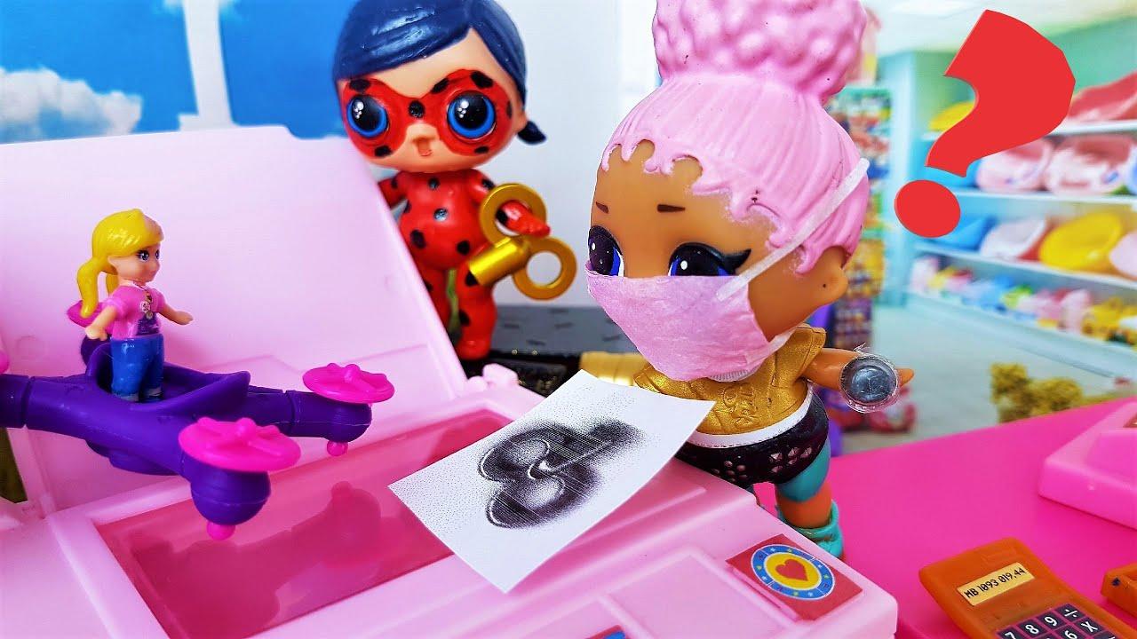 СМОЖЕШЬ ДОСТАТЬ? КУКЛЫ ЛОЛ СЮРПРИЗ #Мультики с куклами Леди Баг, Поли Покет