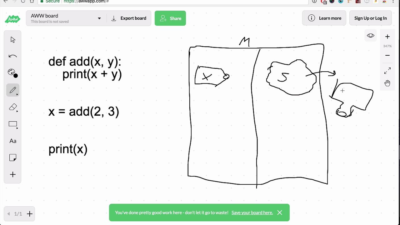return vs print Lesson - Base Python Track