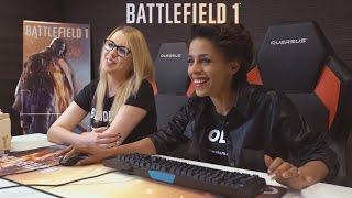 Szkolenie Battlefield 1 z Aleksandrą Szwed i BlondeGabi