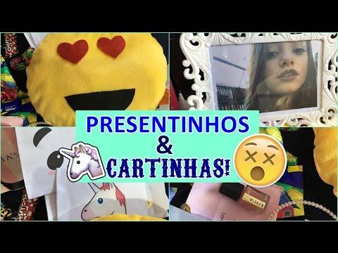 PRESENTES E CARTINHAS DO ENCONTRINHO NO CENTER SHOPPING RJ!