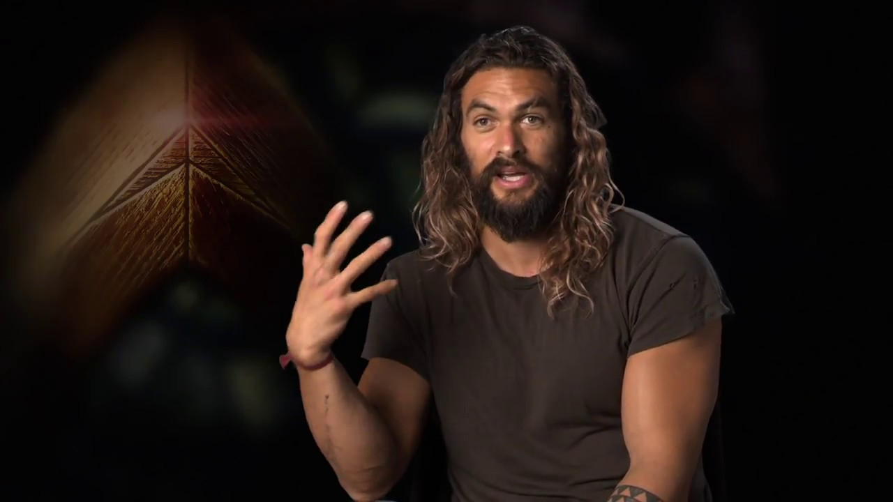 "Justice League ""Aquaman"" Official Movie Interview - Jason ...Jason Momoa Movies"
