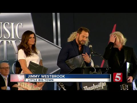 3 Stars, Including Little Big Town, Added To Walk Of Fame In Nashville