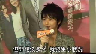日本偶像男星小池徹平昨早10點15分抵台,雖非假日,仍吸引逾150名粉絲在...