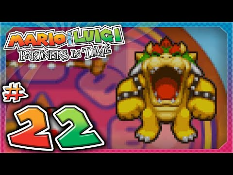 Mario and Luigi: Partners In Time - Part 22: BOWSER IS BACK!
