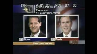CNN Election 2000 - All State Calls (President)