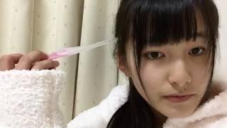 【SHOWROOM】2017年02月27日20時02分 髙橋真生(NGT48 研究生)