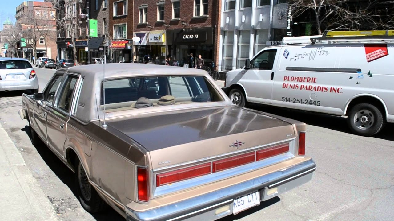 1980 1984 lincoln town car sighting youtube 1980 lincoln town car signature series 1980 lincoln town car signature series