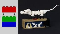 Building the LEGO Luck Dragon