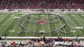 Ohio State Marching Band Superheroes Halftime Show 11 05 2016 OSU vs Nebraska