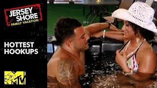 🔥Hottest Hookups 👙In 'Jersey Shore' History | MTV
