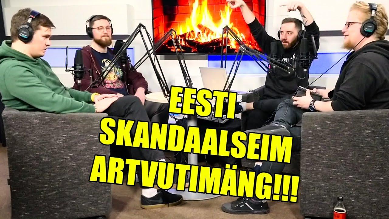 Teine Tase 341 × Proovisime ära Eesti kõige skandaalsema videomängu! (Podcast)