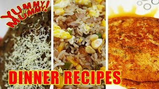Dinner recipes for kids | 3 easy dinners for busy parents