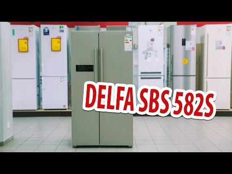 видео: Обзор холодильника side-by-side delfa sbs 582s