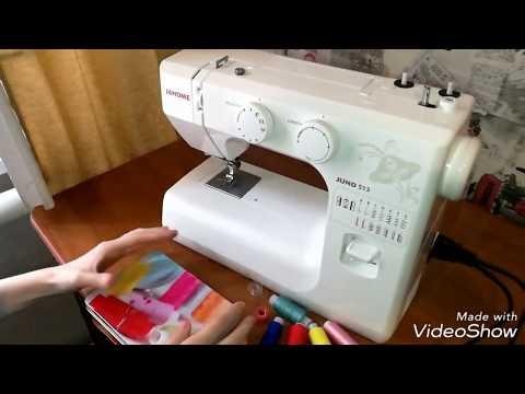 ОБЗОР на швейную машину JANOME JUNO 513.