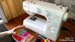 швейная машина, оверлок Janome Juno 513 обзор