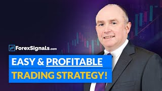 SIMPLE & PROFITABLE Trend-following Forex Trading Strategy!