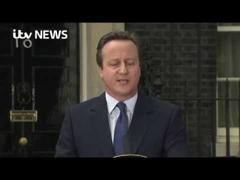 david cameron s first speech as David cameron's speech: full text here is the text of david cameron's remarks in downing street shortly after becoming the prime minister.