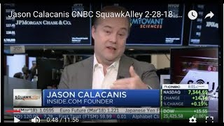 Jason Calacanis CNBC SquawkAlley 2-28-18: Amazon buys Ring (goodbye ADT?); Comcast bids for Sky