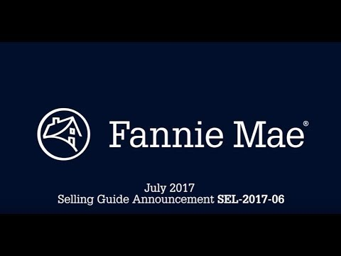 Fannie Mae Selling Guide & DU 10.1 Executive Overview