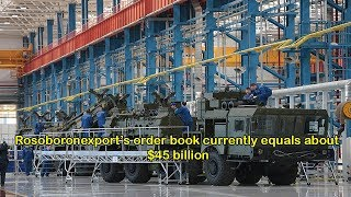 Russian state arms exporter's military hardware sales hit $140 bln over 17 years