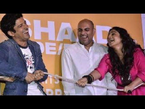 Farhan Akhtar & Vidya Balan at Shaadi Ke Side Effects Trailer Launch