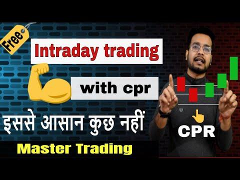 Cpr Central Pivot Range Best For Trading Stock Market
