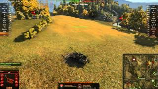 World of Tanks T71 Gameplay - Redshire - Standard Battle - 1000xp Victory