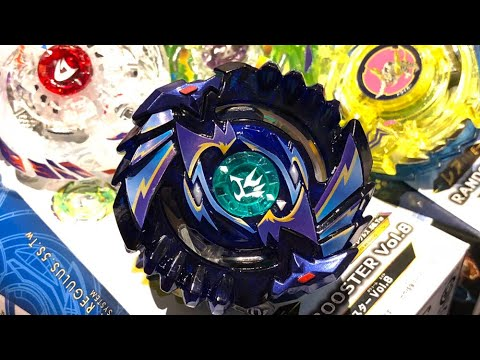 Shelter Regulus .5S.Tw PRIZE BEYBLADE & Random Booster Vol. 8 Unboxing & Review! - Beyblade Burst