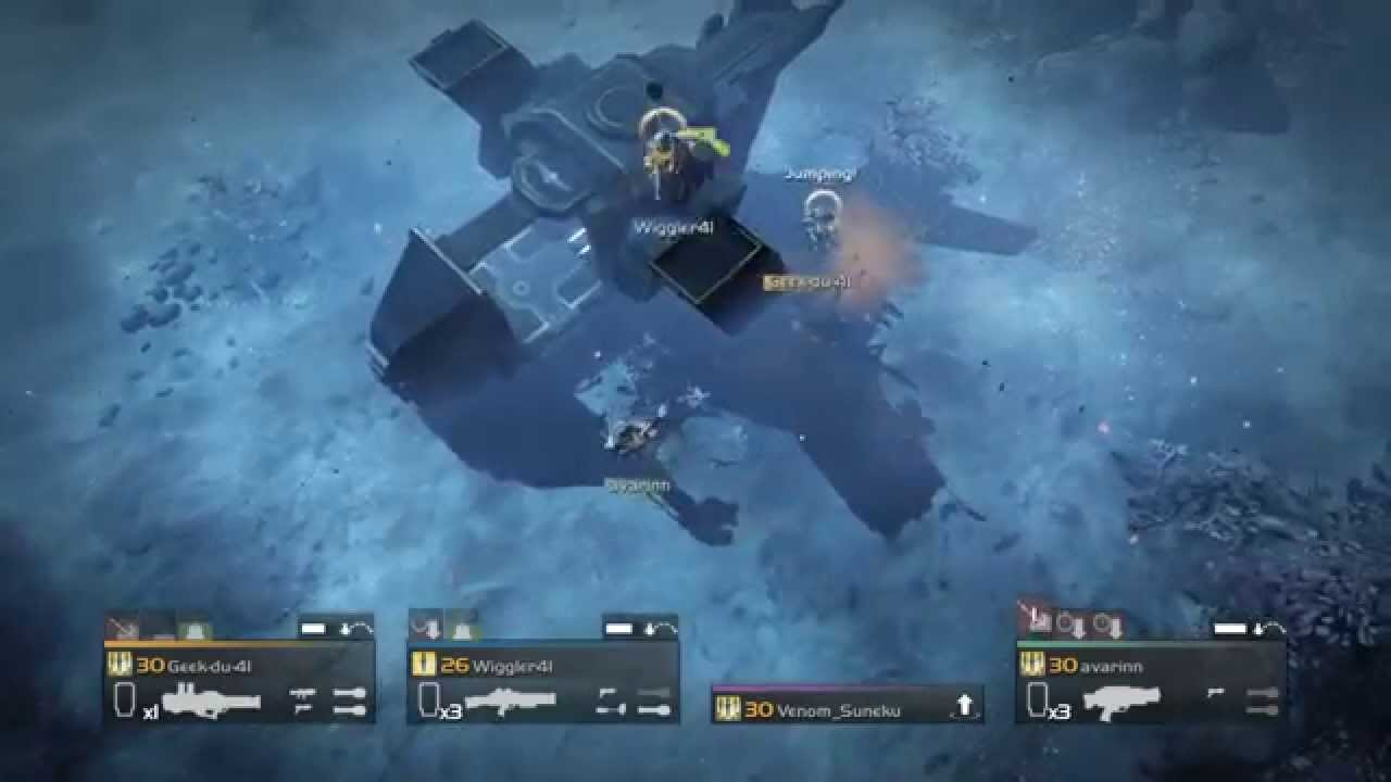 Helldivers - Glitch causing a player to be able to jump on top of ...