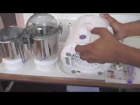 Sujata Dynamix Mixer Grinder 810 Watt Unboxing Demo & Review    Best Mixer Grinder