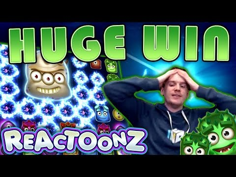 BIG WIN On Reactoonz Slot - £20 Bet!