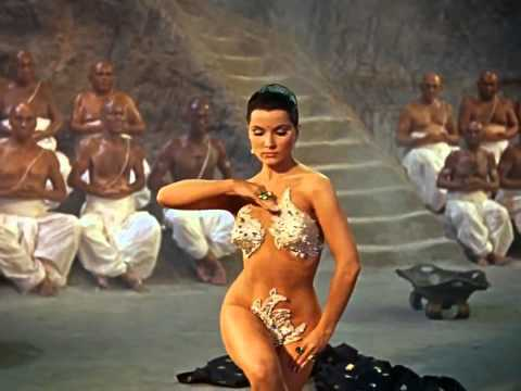 The Indian Tomb   Debra Paget   Snake Dance Scene   HD