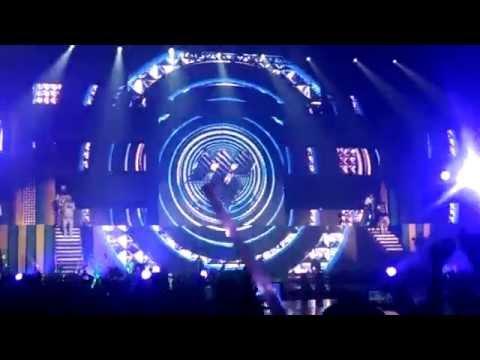 070614 Music Bank in Brazil - M.I.B - Bounce (CHISA'BOUNCE)