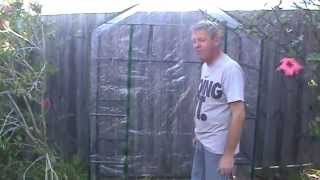 Phil's Gardening Tips And Tricks New Greenhouse Assembly And Construction