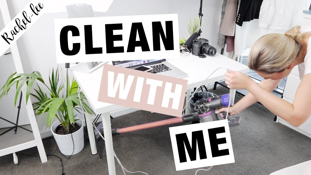 Tidy My Apartment With Me | CLEANING MOTIVATION - YouTube