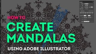 Tutorial: How to easily create mandalas on Adobe Illustrator